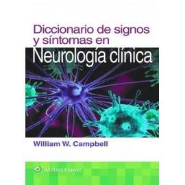 Diccionario de signos y síntomas en neurología clínica - Envío Gratuito