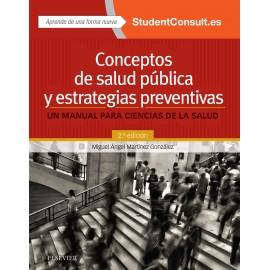 Conceptos de salud pública y estrategias preventivas + StudentConsult en español (ebook) - Envío Gratuito
