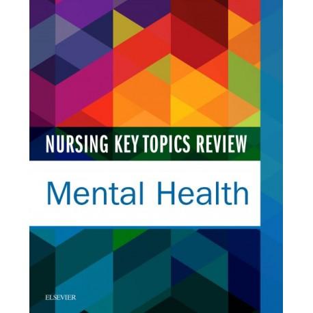 Nursing Key Topics Review: Mental Health - E-Book (ebook) - Envío Gratuito