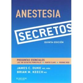 Secretos. Anestesia