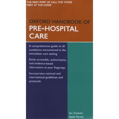 Oxford Handbook of Pre-Hospital Care - Envío Gratuito