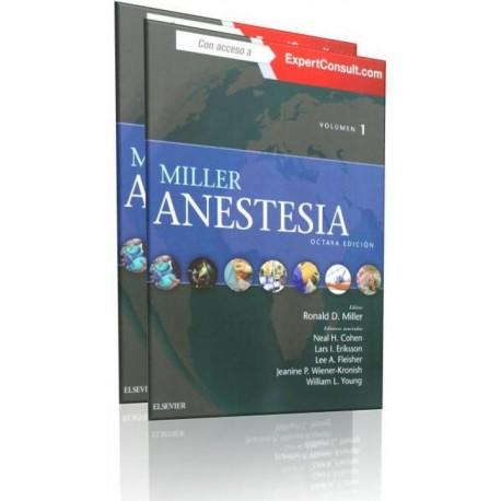 Miller. Anestesia 2 Volúmenes - Envío Gratuito