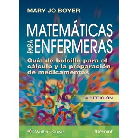 Matemáticas para enfermeras - Envío Gratuito