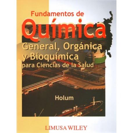 Fundamentos de química general, orgánica y bioquímica: para ciencias de la salud - Envío Gratuito
