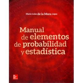 Manual de elementos de probabilidad y estadística - Envío Gratuito