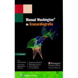 Manual Washington de Ecocardiografía - Envío Gratuito