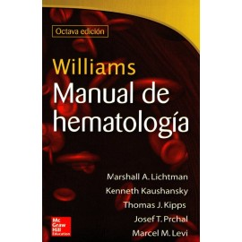 Williams. Manual de hematología - Envío Gratuito