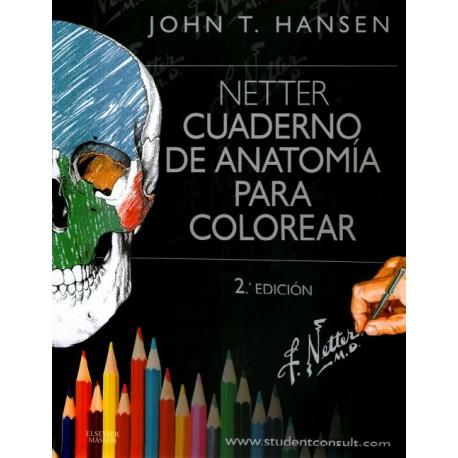 Netter. Cuaderno de anatomía para colorear - Envío Gratuito