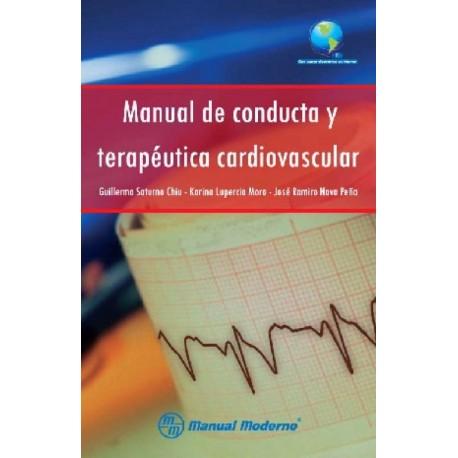 Manual de conducta y terapéutica cardiovascular - Envío Gratuito