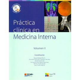Práctica clínica en medicina interna 2 volúmenes - Envío Gratuito