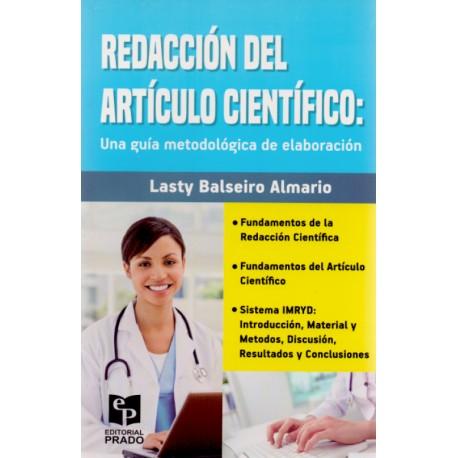 Redacción del artículo científico: Una guía metodológica de elaboración - Envío Gratuito