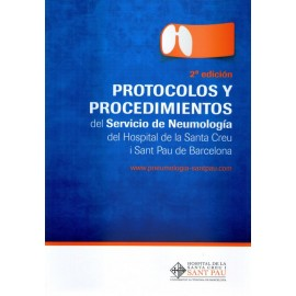 Protocolo y procedimiento del servicio de neumología del hospital de la Santa Creu - Envío Gratuito