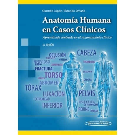 Anatomía Humana en Casos Clínicos - Envío Gratuito