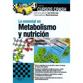 Cursos crash. Lo esencial en metabolismo y nutrición - Envío Gratuito