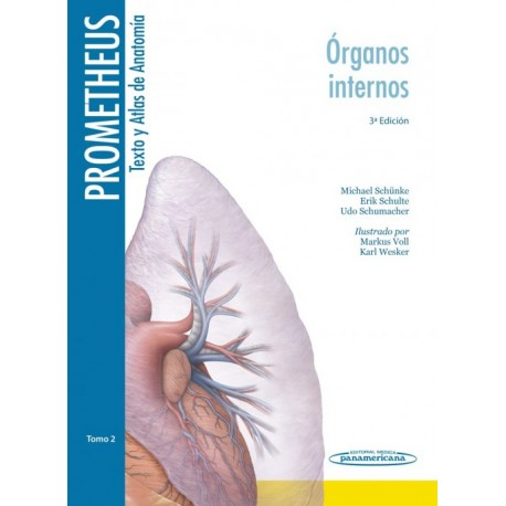 Prometheus. Texto y Atlas de Anatomía 2. Órganos Internos - Envío Gratuito