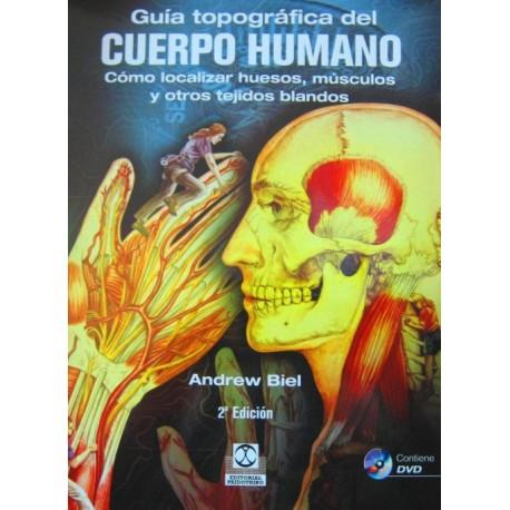 Guía Topográfica del cuerpo humano - Envío Gratuito