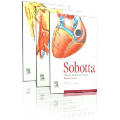 SOBOTTA. Atlas de anatomía humana 3 Volumenes - Envío Gratuito