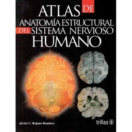 Atlas de anatomía estructural del sistema nervioso humano - Envío Gratuito