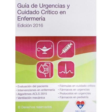 Guía de urgencias y cuidados critico en enfermería - Envío Gratuito