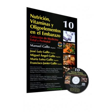 CMFP 10. Nutrición, Vitaminas y Oligoelementos en el Embarazo - Envío Gratuito