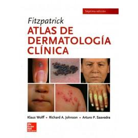 Fitzpatrick. Atlas de dermatología clínica - Envío Gratuito