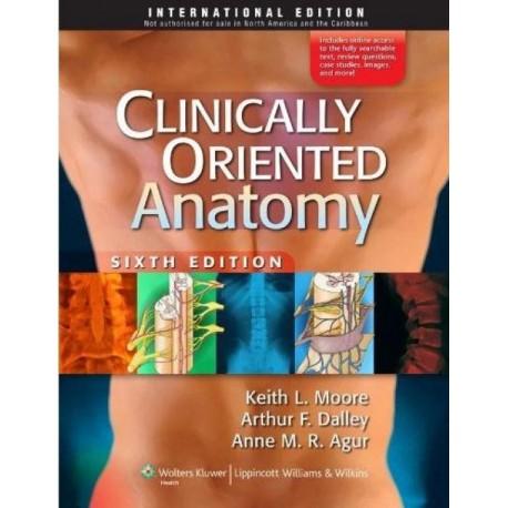 Clinically oriented anatomy - Envío Gratuito
