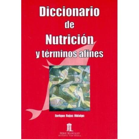 Diccionario de nutrición y términos afines - Envío Gratuito