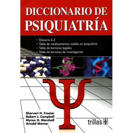 Diccionario de psiquiatría - Envío Gratuito