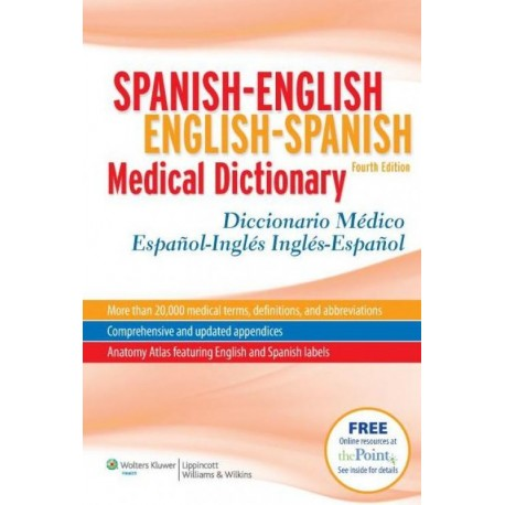 Spanish-English English-Spanish Medical Dictionary - Envío Gratuito