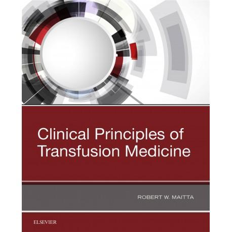 Clinical Principles of Transfusion Medicine (ebook) - Envío Gratuito
