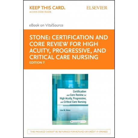 Certification and Core Review for High Acuity and Critical Care Nursing - E-Book (ebook) - Envío Gratuito