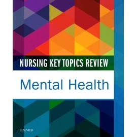 Nursing Key Topics Review: Mental Health - E-Book (ebook)