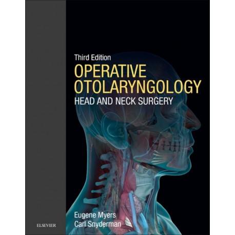 Operative Otolaryngology E-Book (ebook) - Envío Gratuito