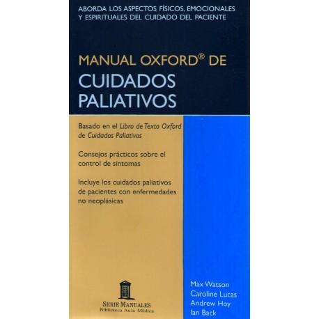 Manual Oxford de Cuidados Paliativos - Envío Gratuito
