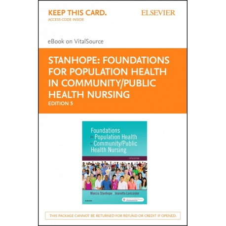 Foundations for Population Health in Community/Public Health Nursing - E-Book (ebook) - Envío Gratuito