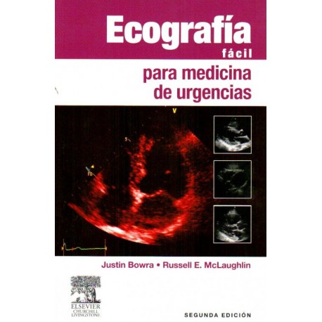 Ecografía fácil para medicina de urgencias - Envío Gratuito