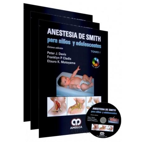 Anestesia de Smith para Niños y Adolescentes. 3 Volúmenes - Envío Gratuito