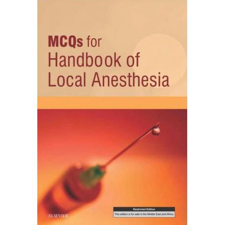 MCQs for Handbook of Local Anesthesia E-Book (ebook) - Envío Gratuito