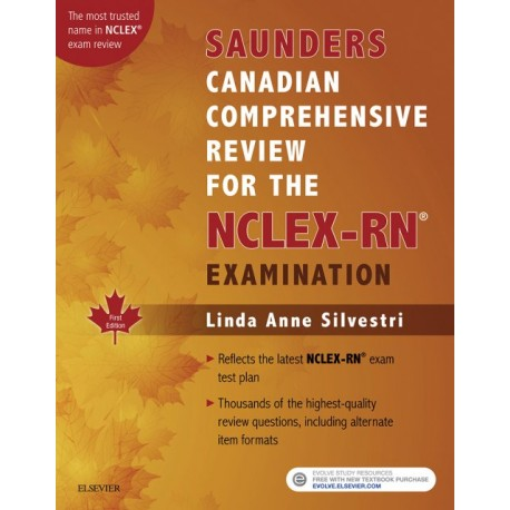 Saunders Canadian Comprehensive Review for the NCLEX-RN - E-Book (ebook) - Envío Gratuito