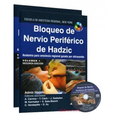 Bloqueo de Nervio Periférico de Hadzic. 2 Volúmenes - Envío Gratuito