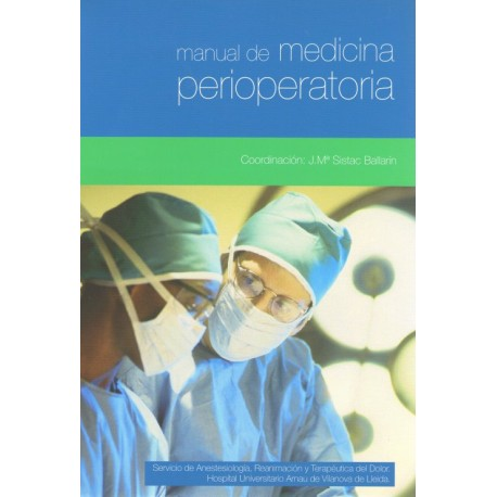 Manual medicina perioperatoria - Envío Gratuito
