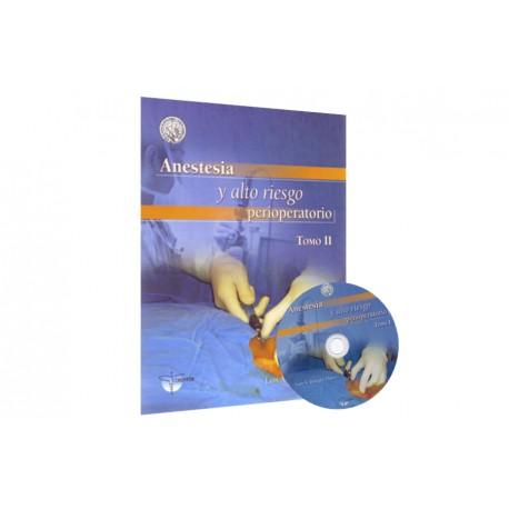 Anestesia y alto riesgo perioperatorio 2 Tomos - Envío Gratuito