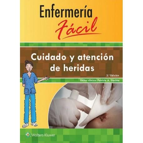 Enfermería fácil. Cuidado y atención de heridas - Envío Gratuito