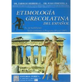 Etimología Grecolatina del Español - Envío Gratuito