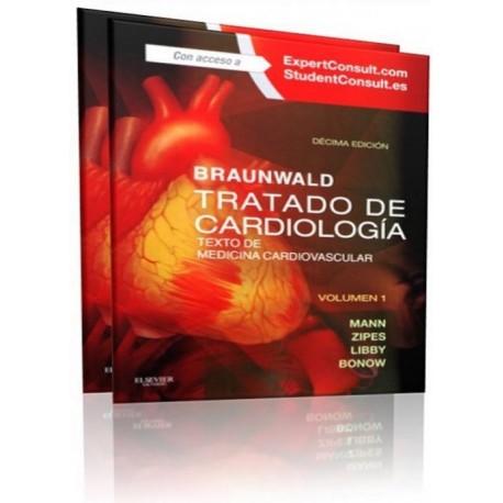 Braunwald. Tratado de Cardiologia 2 Volumenes - Envío Gratuito