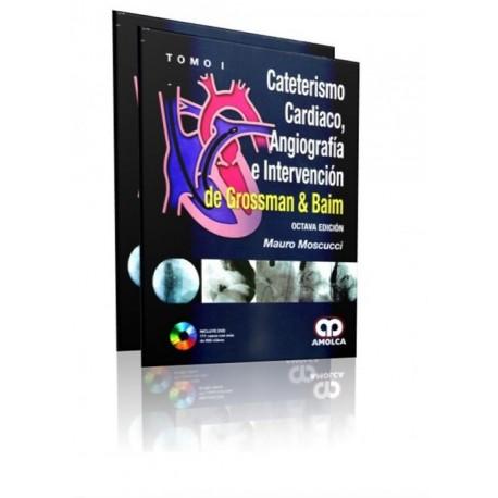 Cateterismo Cardiaco, Angiografía e Intervención de Grossman & Baim. 2 Tomos - Envío Gratuito