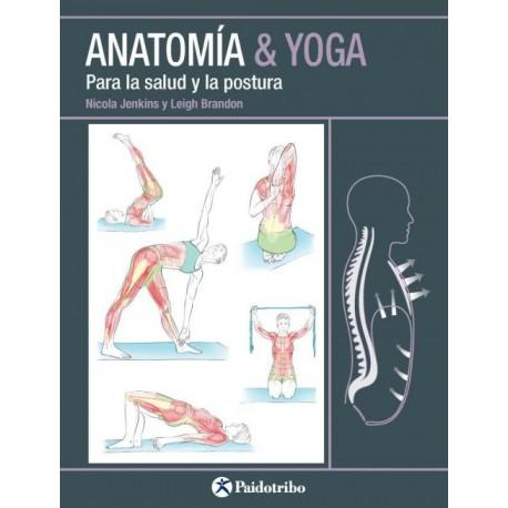Anatomía & Yoga para la Salud y la Postura - Envío Gratuito