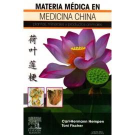Materia médica en medicina china. Plantas, minerales y productos animales - Envío Gratuito