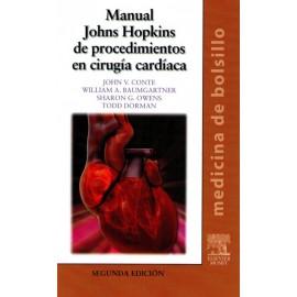 Manual Johns Hopkins de Procedimientos en Cirugía Cardíaca. Medicina de bolsillo