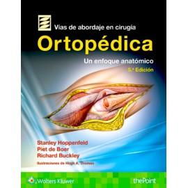 Vías de abordaje de cirugía ortopédica. Un enfoque anatómico